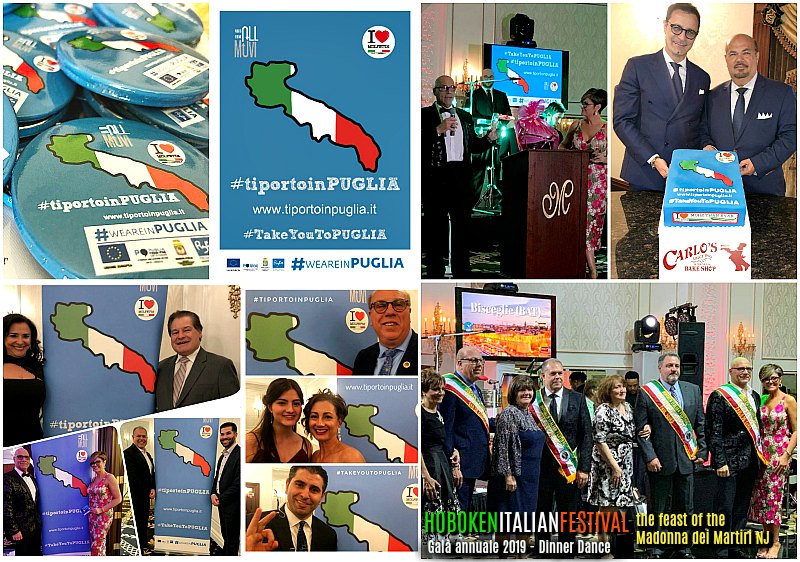 In North America, Puglia is promoted with the #tiportoinPUGLIA project