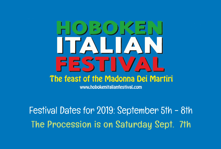 Hoboken Italian Festival the feast of the Madonna dei Martiri 2019