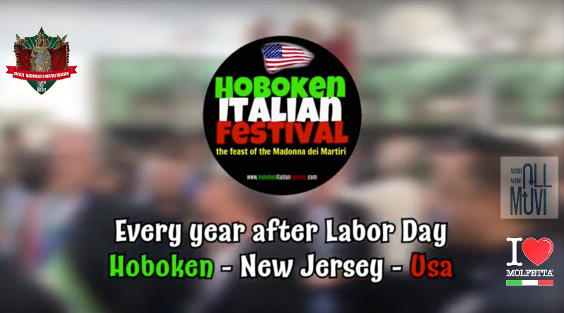 The short spot promoting HobokenItalianFestival MdM NJ - USA