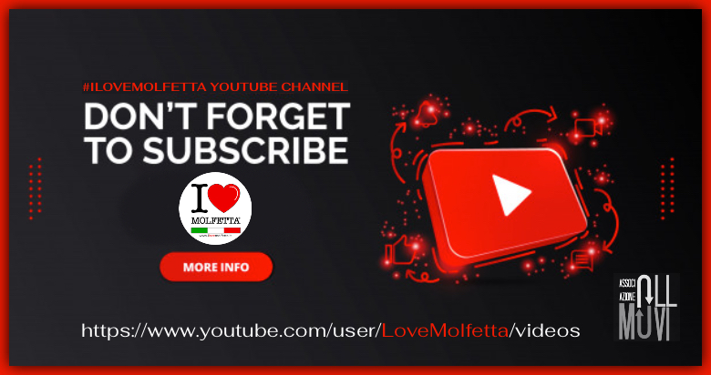 Follow Us YouTube Channel #ilovemolfetta