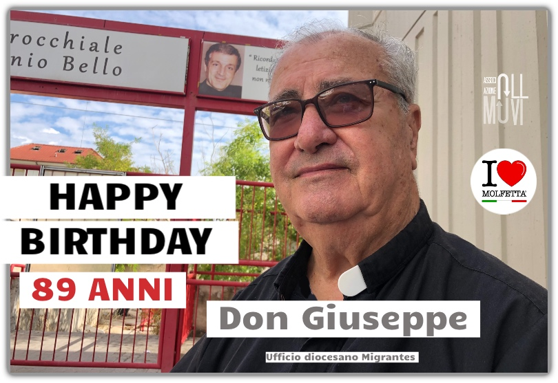 Happy Birthday Don Giuseppe 89 anni