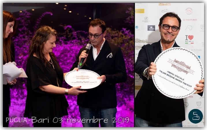 ItalianWeddingAwards 2019 in Puglia to Roberto Pansini