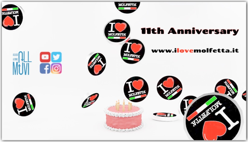 11th Anniversary I Love Molfetta